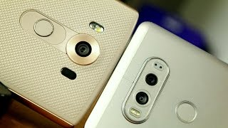 LG V20 vs LG V10 Smartphone Showdown: Should you upgrade?