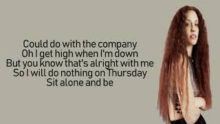 Jess Glynne - Thursday (Lyrics | Lyric Video)