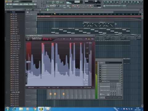 Как сделать мунус бит инструментал Адвайта - Курим сидим в Fl studio
