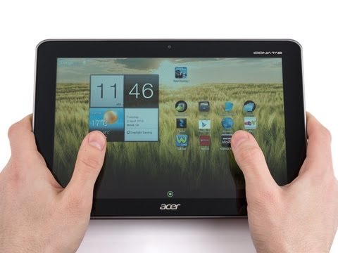 Обзор Acer Iconia Tab A211 (A210) (review): планшет с Tegra 3 и 3G