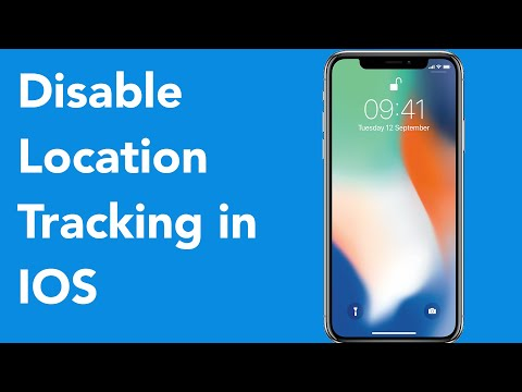 How to disable location tracking in IOS