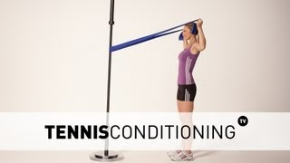 Horizontal Abducted External Shoulder Rotation | Tennis Conditioning
