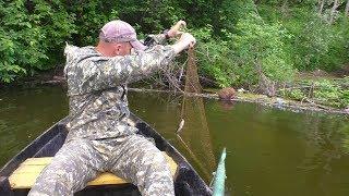 Рыбалка на речке про рыбалку