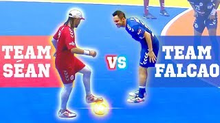 CRAZY FUTSAL SKILLS 2019 - TEAM FALCAO VS TEAM SÉAN
