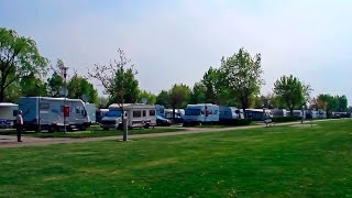 preview picture of video 'Reisebericht Strandcamping Podersdorf am See (Burgenland) April 2014'