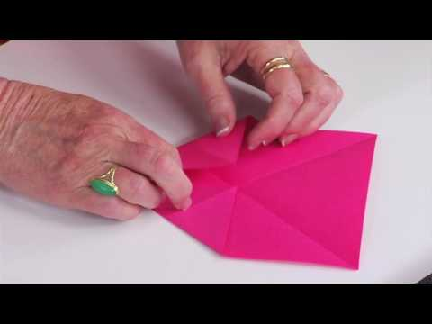 Ellison Education Video Series: Making Paper Fortune Tellers