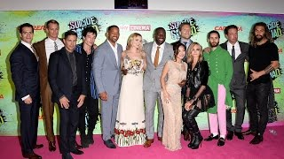 The Entire Suicide Squad Cast Introduce UK Press Screening
