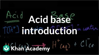 Acid Base Introduction