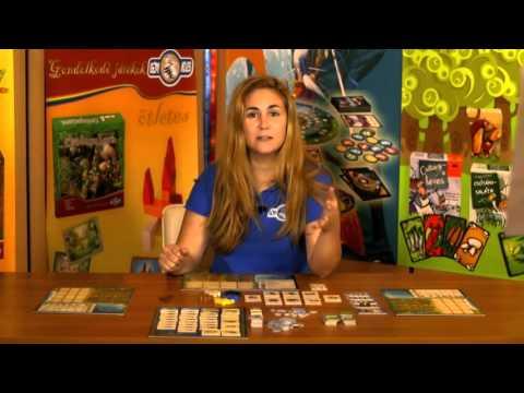 Puerto Rico társasjáték bemutató - Gémklub