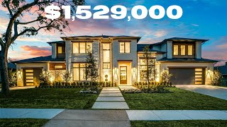 Incredible New Custom Transitional Modern Luxury Home In Dallas |  5-Bed, 5.5-Bath, 3-Car, 5256 SF