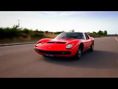 Lamborghini Muira car review | Top Gear | BBC