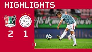 Highlights | NEC - Jong Ajax | Keuken Kampioen Divisie