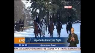 preview picture of video 'Hubertus 2012 w THK Wolbórz   relacja w Telewizji Łódź'
