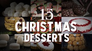 15 Christmas Desserts - Download this Video in MP3, M4A, WEBM, MP4, 3GP