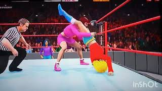 WWE 2K18: One-on-One: Totally Spies: Clover vs. Dominique