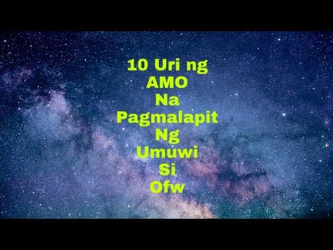 #10-tricks ni amo pagmalapit na umuwi si ofw..
