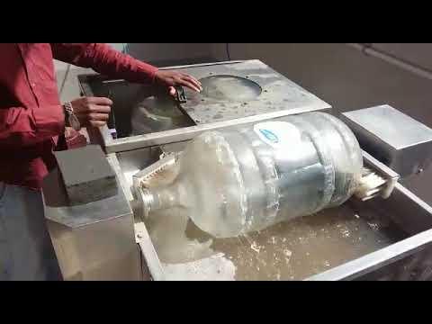 Semi Bottle Washing Machine