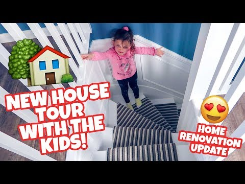 NEW HOUSE TOUR UPDATE! (Home Renovation)