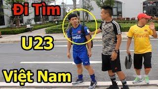 Thử Thách Bóng Đá đi tìm Bùi Tiến Dũng , Công Phượng và đội tuyển U23 Việt Nam tại PVF