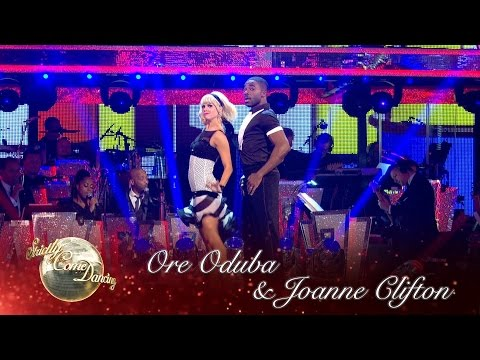 Ore Oduba and Joanne Clifton Jive to 'Runaway Baby' – Strictly Come Dancing 2016: Week 4