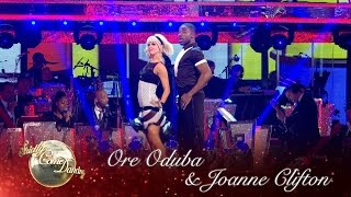 Ore Oduba And Joanne Clifton Jive To 'Runaway Baby' - Strictly Come Dancing 2016: Week 4