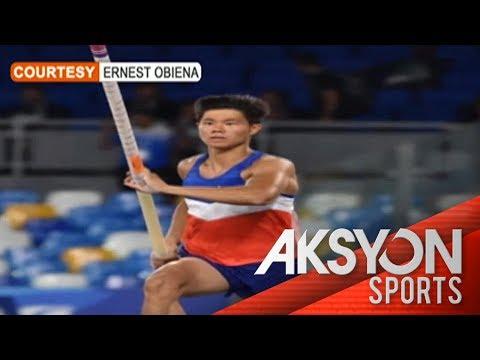 [News5]  Pilipinong pole vaulter, pasok na sa 2020 Olympics