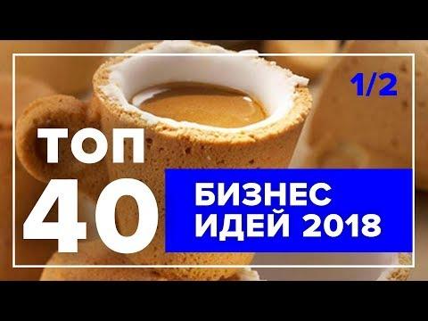 ТОП 40 бизнес-идей на 2018 год – Часть 1 | Лучшие бизнес идеи с минимальными вложениями
