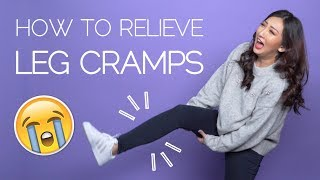 How to relieve LEG CRAMPS naturally