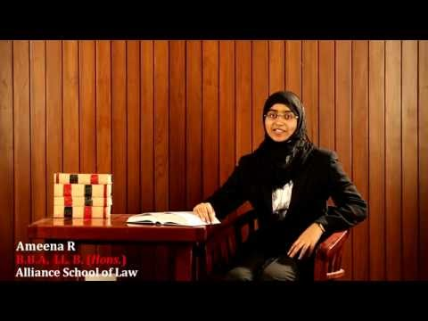 Alliance School of Law video cover1