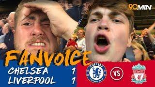 Sturridge Silences Chelsea At The Last Minute! | Chelsea 1 1 Liverpool | 90min Fanvoice