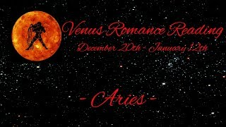Aries ~ Love and romance is knocking! ~ Venus Romance Reading