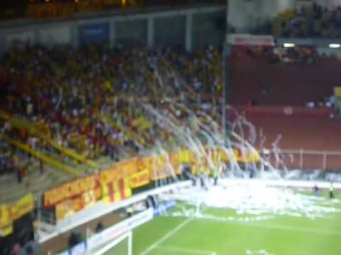 """""""LOCURA 81 Morelia vs Banfield Copa Libertadores Salida"""" Barra: Locura 81 • Club: Monarcas Morelia"""