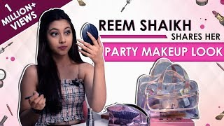 Reem Shaikh Shares Her Party Makeup Look | Exclusive