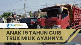 Viral Video Aksi Truk Oleng di Batang, Ternyata Sopir Masih 15 Tahun dan Curi Kendaraan Milik Ayah