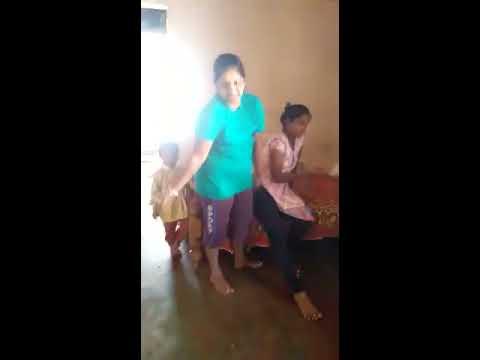 Three girls sex enjoy at hostel room sex