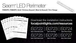 Seem 4 LED Perimeter Installation Instructions