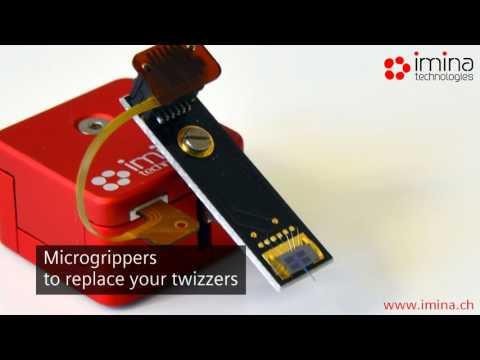 Imina Technologies Nanomanipulateurs miBot