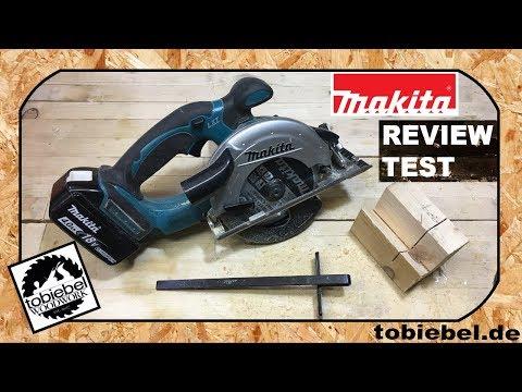 Makita Akku Handkreissäge 18V DSS501Y1J Test und Review 18 V Handkreissäge Testbericht Makita