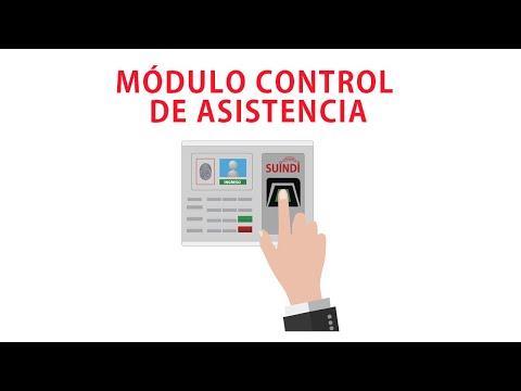 SUINDI Supervisión Inteligente Digital / módulo Control de Asistencia