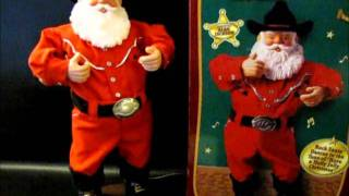 Alan Jackson's Holly Jolly Rock Santa Sings and Dances to Holly Jolly Christmas