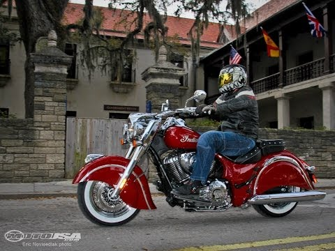 Chasin' History on the 2014 Indian Chief Classic - MotoUSA