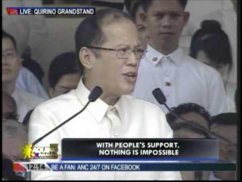 Inaugural address of President Benigno Aquino III (part 3)