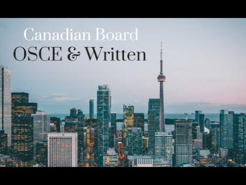 Canadian Board OSCE & Written Exam Course - YouTube