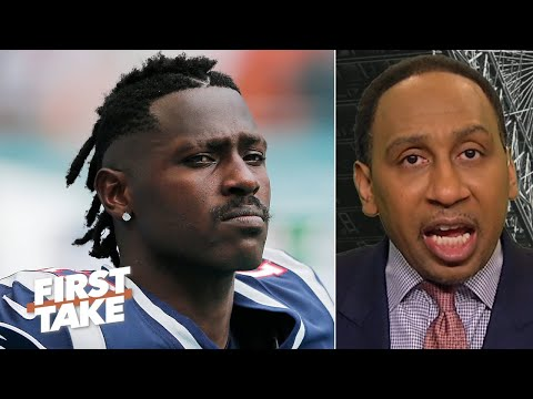 Stephen A. responds to Antonio Brown calling him out on Twitter: I feel sorry for AB | First Take