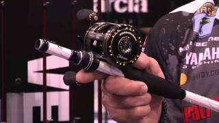 New Abu Garcia Ambassadeur Morrum ZX Casting Reel with Mike Iaconelli   ICAST 2013