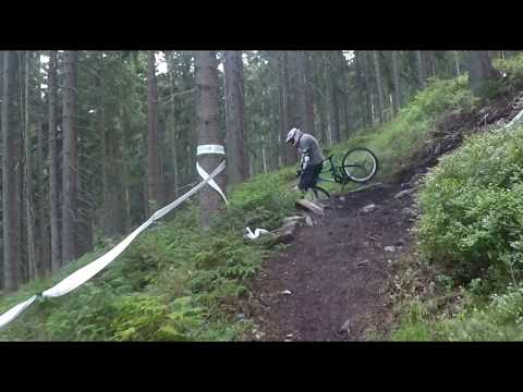 Crash rock garden bikepark Špindl 2019