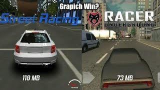 Street Racing Vs Racer Underground | Android Game Comparison