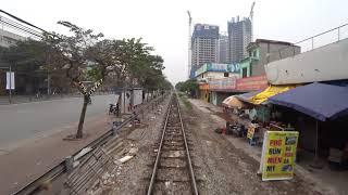 Catatan Driver Kereta SE5 Hanoi - Ninh Binh (2017)