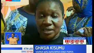 Vurugu Kisumu baada ya vijana kutaka kuvamia mkutano wa kina mama