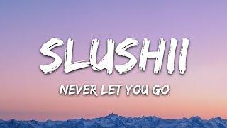 Slushii   Never Let You Go (Lyrics) Ft. Sofia Reyes